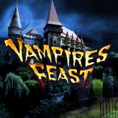 Play Vampires Feast Slots game Green Valley