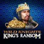 Play Wild Knights Kings Ransom Slots game Barcrest