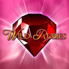 Play Wild Rubies Slots game Merkur