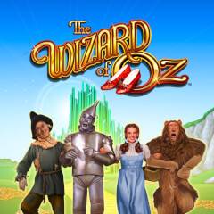 Wizard of Oz Slots game WMS