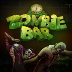 Play Zombie Bar Slots game Green Valley