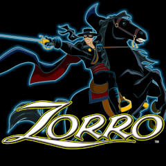 Play Zorro Slots game Aristocrat