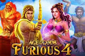 Play Age of the Gods Furious Four Slots game Playtech