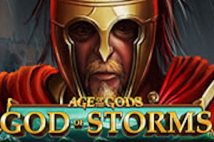Play Age of the Gods God of Storms Slots game Playtech