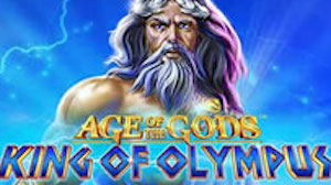 Play Age of the Gods King of Olympus Slots game Playtech
