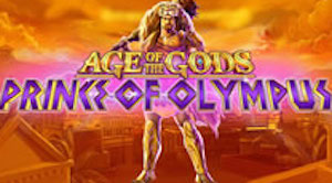 Play Age of the Gods Prince of Olympus Slots game Playtech