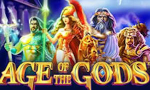 Play Age of the Gods Slots game Playtech