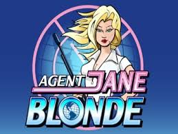 Agent Jane Blond Slots game Casumo