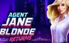 Agent Jane Blonde Returns Slots game Microgaming