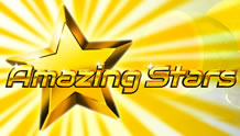 Play Amazing Stars Slots game Novomatic
