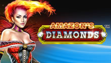 Play Amazons Diamonds Slots game Novomatic
