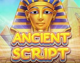 Ancient Script Slots game Red Tiger