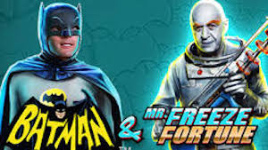 Batman Mr Freeze Fortunes Slots game Playtech