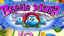 Beetle Mania Deluxe Slots game Novomatic