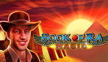 Play Book of Ra Magic Slots game Novomatic