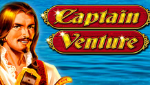 Play Captain Venture Slots game Novomatic