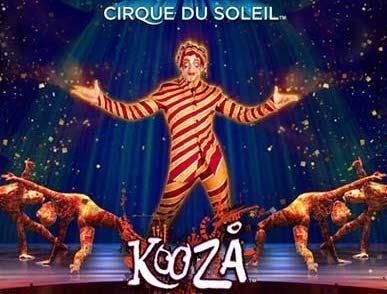 Cirque du Soleil Kooza Slots game WMS