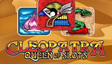 Play Cleopatra Queen of Slots Slots game Novomatic