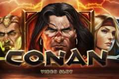 Play Conan Slots game NetEnt