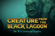 Creature  the black Lagoon Slots game NetEnt