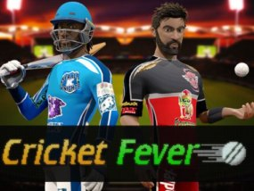 Play Cricket Fever Slots game Genii