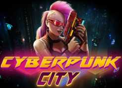 Cyberpunk City Slots game Proprietary Games