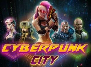 Cyberpunk City slot game - Bovada, Ignition, Bodog, Café Casino