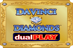 Davinci Diamonds Dual Play Slots game IGT