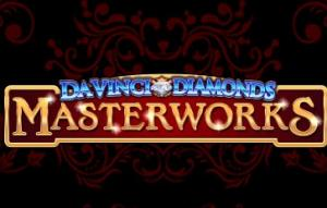 Davinci Diamonds Masterworks Slots game IGT