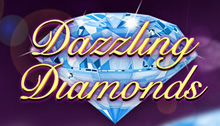 Play Dazzling Diamonds Slots game Novomatic