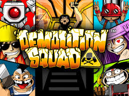 Play Demolition Squad Slots game NetEnt