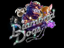 Play Diamond Dogs Slots game NetEnt