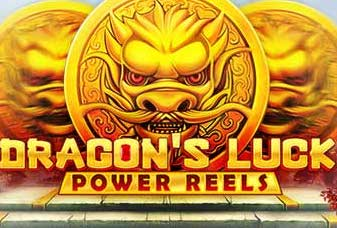 Dragons Luck Power Reels Slots game Red Tiger
