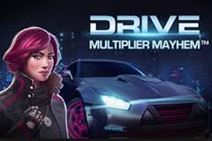Play Drive Multiplier Mayhem Slots game NetEnt