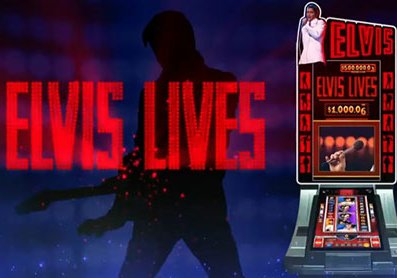 Play Elvis Lives slot game WMS