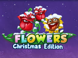 Play Flowers Christmas Edition Slots game NetEnt