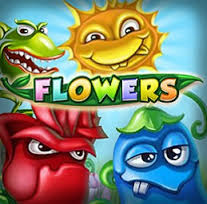 Flowers Slots game NetEnt