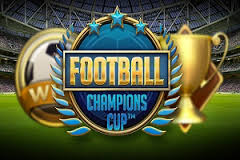 Play Football Champions Cup Slots game NetEnt