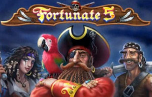 Play Fortunate 5 Slots game Playtech
