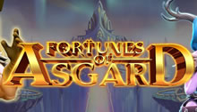 Play Fortunes of Asgard Slots game Microgaming