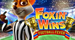 Foxin Wins Football Fever free Slots game