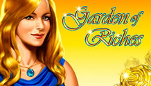 Play Garden of Riches Slots game Novomatic