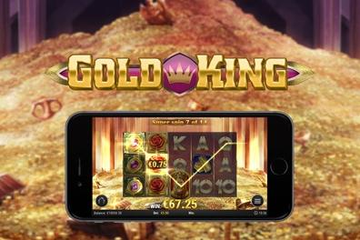 Play Gold King Slots game Play n Go