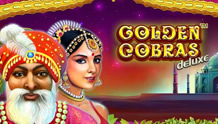 Play Golden Cobras Deluxe slot game Novomatic