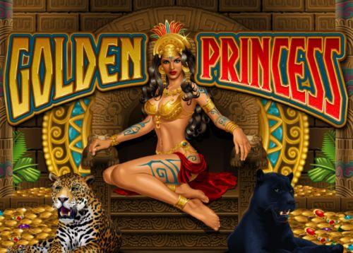 Play Golden Princess slot game Microgaming