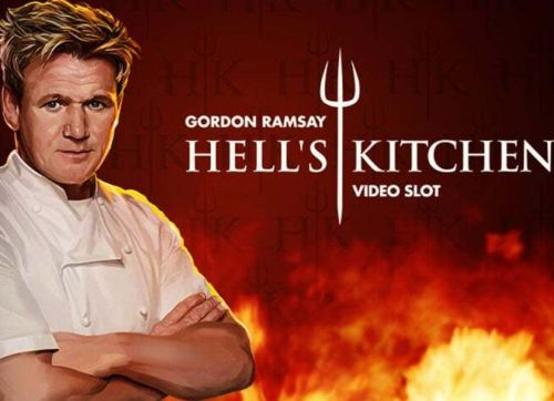 Play Gordon Ramsay Hells Kitchen Slots game NetEnt