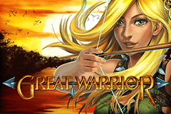 Play Great Warrior Slots game Gamomat