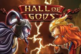 Play Hall of Gods Slots game NetEnt