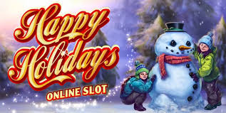 Happy Holidays Slots game Microgaming