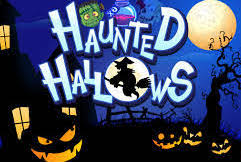 Play Haunted Hallows Slots game Eyecon